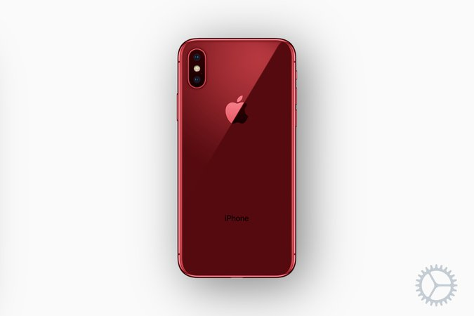 Red Iphone X
