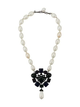 Chanel Pre-Owned 1980's Faux Pearl Necklace - Farfetch