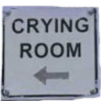 crying sign