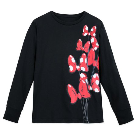 Minnie Mouse Bow Long Sleeve T-Shirt for Women | shopDisney
