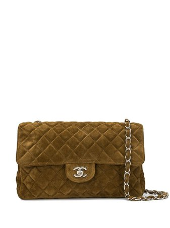 Chanel Pre-Owned 1997 Quilted CC Shoulder Bag - Farfetch