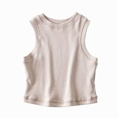 Hollahop Cropped Tank Top | YesStyle