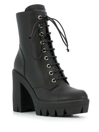 Giuseppe Zanotti lace-up Platform Boots - Farfetch
