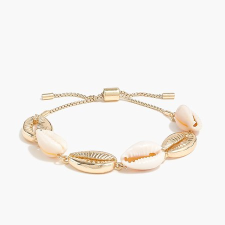 J.Crew Factory: Shell Slider Bracelet For Women