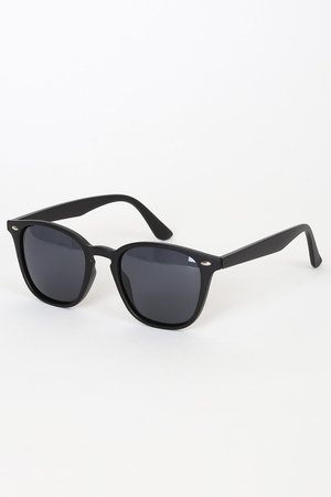 Matte Black Sunnies - Polarized Sunglasses - Black Sunglasses