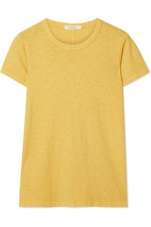 rag & bone | The Tee Pima cotton-jersey T-shirt