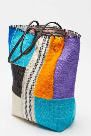 En Shalla Patchwork Tote Bag   Urban Outfitters
