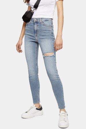Bleach Thigh Rip Jamie Skinny Jeans