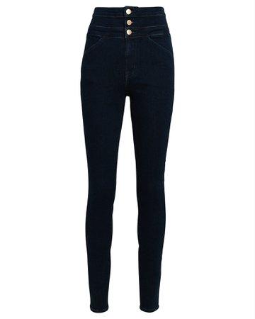 J Brand Annalie High-Rise Skinny Jeans   INTERMIX®