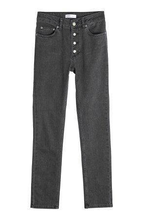 High-Waisted Skinny Jeans Gr. 27