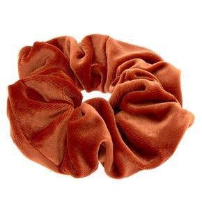 red orange scrunchi - Google Search