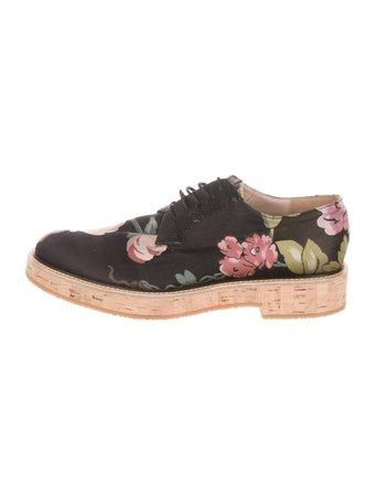 Dries Van Noten Floral Jacquard Oxfords - Shoes - DRI53882 | The RealReal