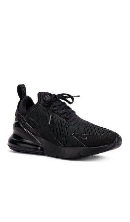 Nike Women's Air Max 270 Sneaker in Black | REVOLVE