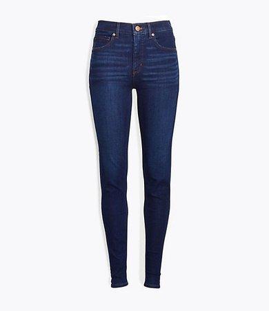 Plus Skinny Jeans in Classic Dark Indigo Wash