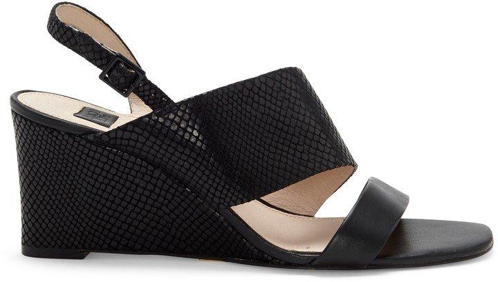 Quarza Asymmetrical-Strap Wedge Sandal