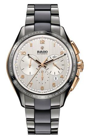 RADO HyperChrome Automatic Chronograph Bracelet Watch, 45mm | Nordstrom
