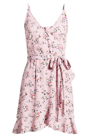 French Connection River Daisy Sleeveless Faux Wrap Dress   Nordstrom
