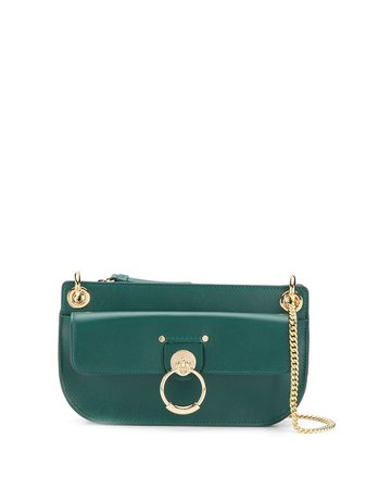 Chloé Tess Leather Shoulder Bag - Farfetch