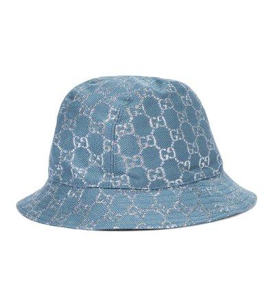 Gg Lamé Bucket Hat   Gucci - Mytheresa