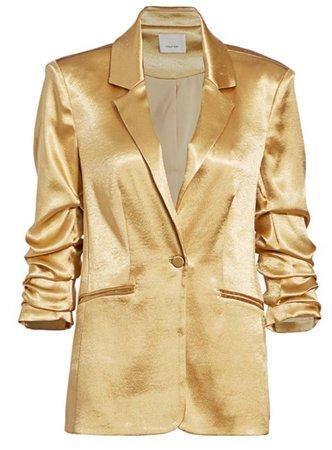 blazer gold