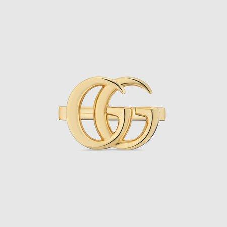 GG Running yellow gold ring - Gucci Rings 525686J85008000
