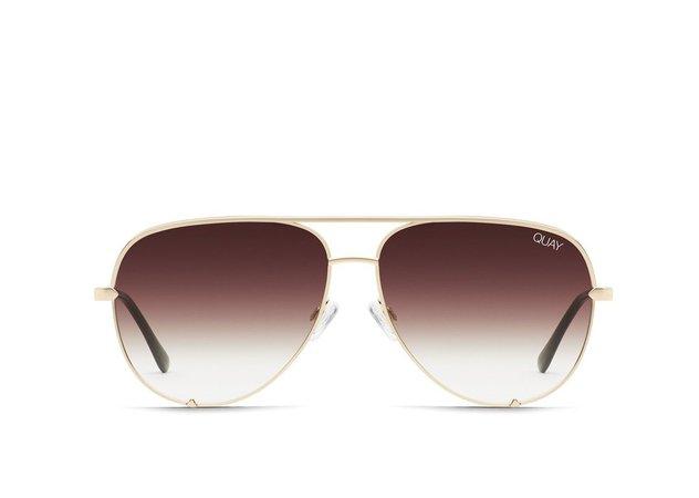 HIGH KEY MINI Sunglasses | Quay Australia