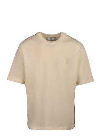 Ami Alexandre Mattiussi Ami Alexandre Mattiussi Short Sleeve T-Shirt - White - 11237094   italist