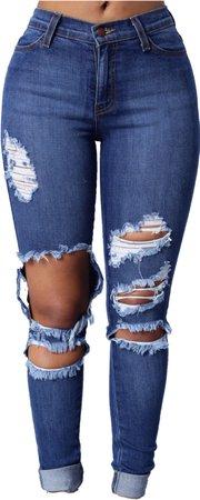ripped fashionova jeans