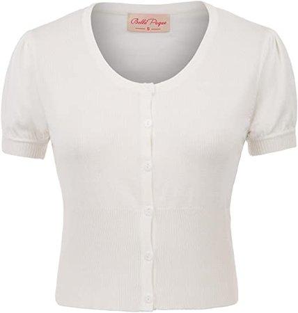 Belle Poque Women Short Sleeve Bolero Cardigan Shrug BP707 at Amazon Women's Clothing store