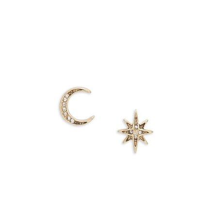 Lonna & Lilly - Crystal Stud Earrings - Walmart.com - Walmart.com