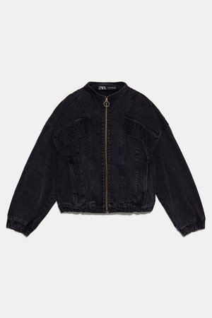 '80S DENIM JACKET | ZARA United States