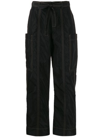 Ganni Paperbag Trousers