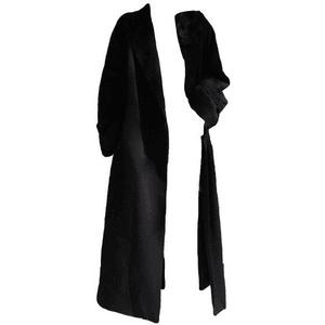 LONG BLACK COAT PNG