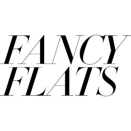 Fancy Flats text