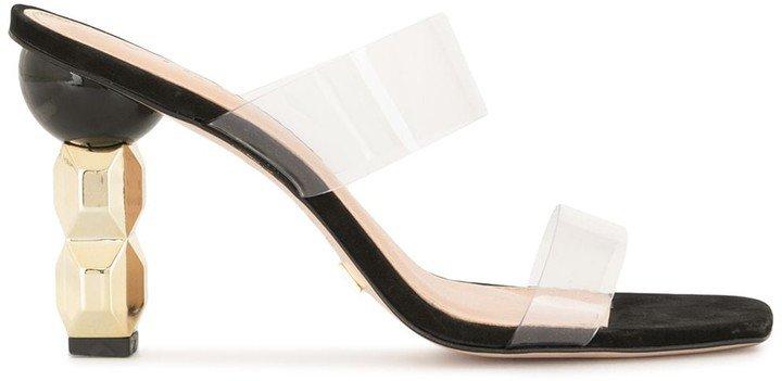Open-Toe Mule Sandals