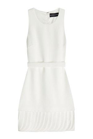 Crepe Dress with Petal Hem Gr. US 4