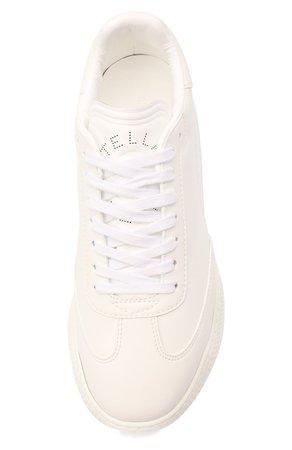Женские белые комбинированные кроссовки runner loop STELLA MCCARTNEY — купить за 35800 руб. в интернет-магазине ЦУМ, арт. 583950/W1TV1