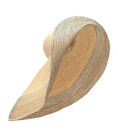 Spinner raffia hat