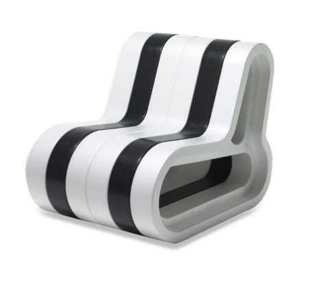 modern bw chair