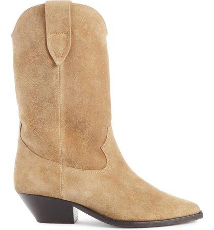 Isabel Marant Duerto Western Boot (Women) | Nordstrom