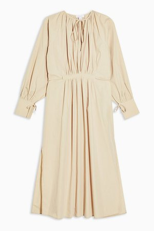 **Camel Smock Dress By Topshop Boutique | Topshop
