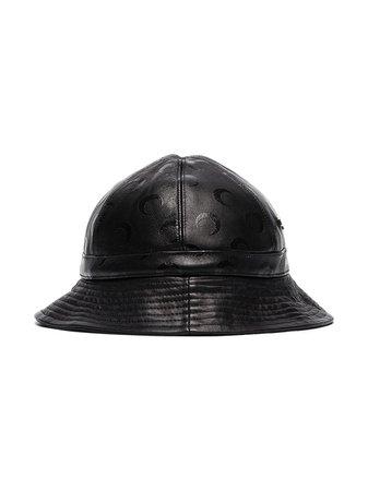 Marine Serre Logo Pattern Bucket Hat Aw20 | Farfetch.Com