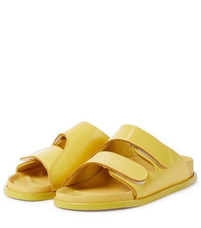 Birkenstock - x Toogood The Forager leather sandals   Mytheresa