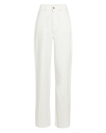 WeWoreWhat High-Rise Wide Leg Jeans | INTERMIX®