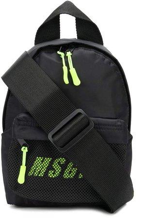 neon-logo mini backpack