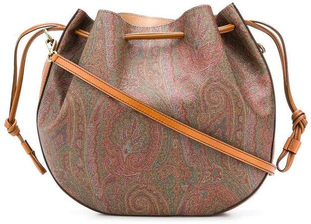 paisley print crossbody bag