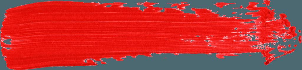 Red Paint Brush Stroke