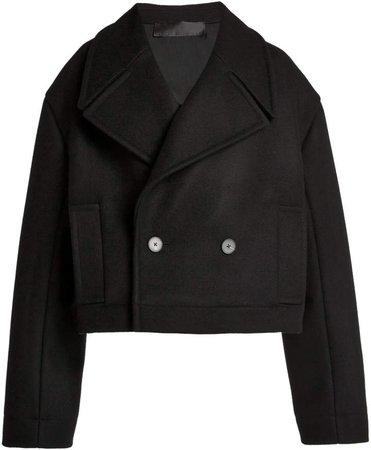 Haider Ackermann Short Caban Cropped Coat