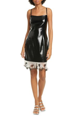 STAUD Joan Faux Leather Minidress | Nordstrom