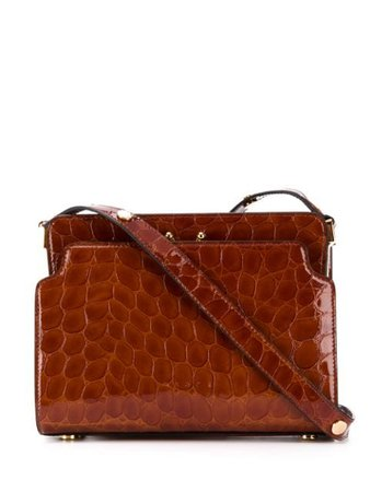 Marni Trunk Embossed Shoulder Bag - Farfetch
